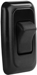 JR Products 12225 Multi-Purpose Single Rocker Switch - Black