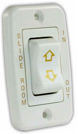 JR Products 12345 RV Slide Out Switch Mom-On/Off/Mom-On 5 Pin