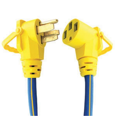 16-00511 30Ft 50Amp RV Extension Cord Ezee Grip