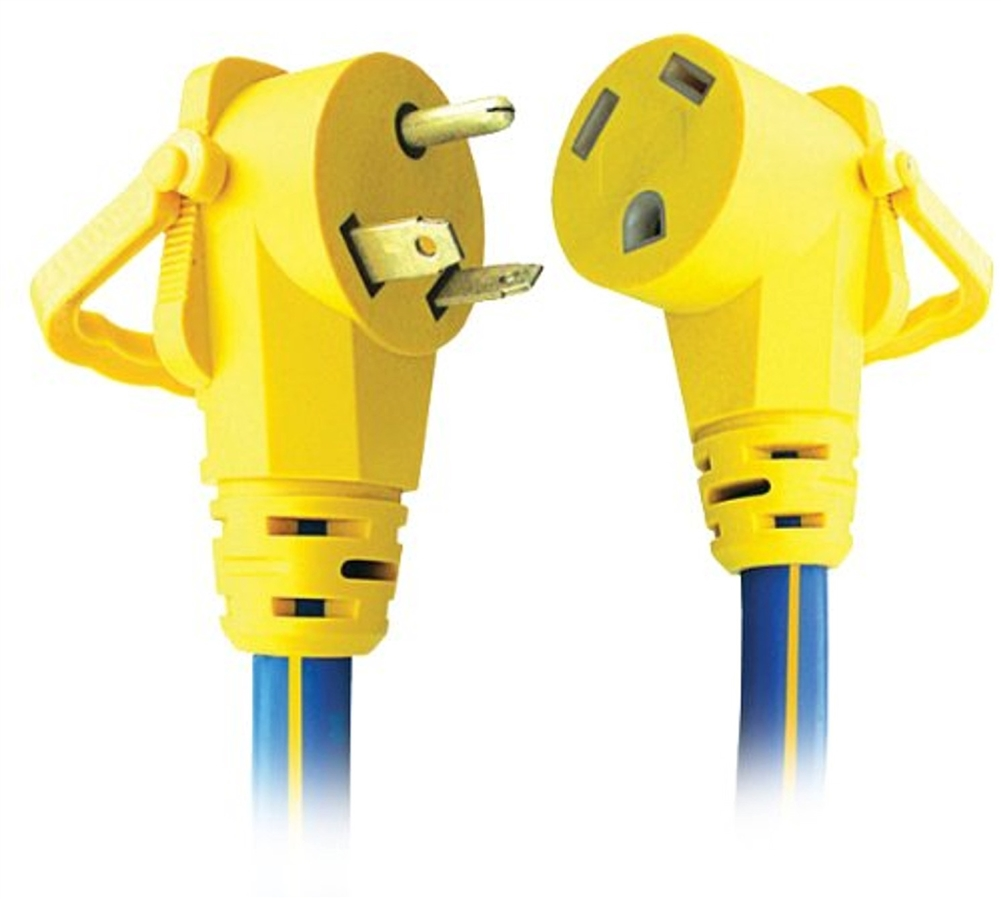 30 Amp Rv Plug >> Ap Products 16 00507 Rv Extension Cord 30 Amp 15