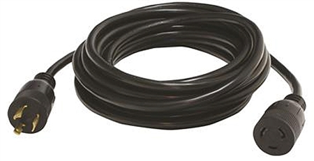 Valterra 20 Amp 3 Prong 25' RV Generator Extension Cord