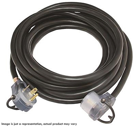 Valterra 30A 50' Extension Cord W/LED Ends & Handles