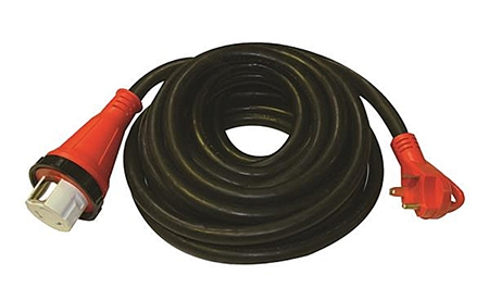 Valterra 30 Amp Male X 50 Amp Female 25' Detachable Adapter W/Handle