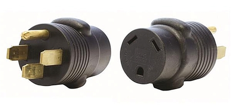 Valterra 50 Amp Male X 30 Amp Female RV Adapter Plug