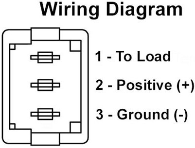 JR Products 12505 Multi-Purpose Illuminated Switch