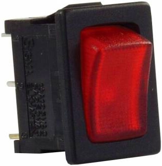 JR Products 12765 Multi-Purpose Illuminated Mini Switch