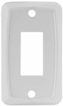 JR Products 12841-5 5 Pack RV Single Switch Face Plate - White