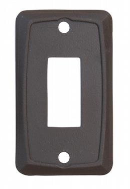 Valterra DG118VP Single Switch Wall Plate - Brown