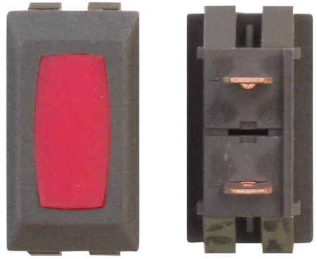 Diamond Group ZU-06-14C 12V Power Indicator Lamp - Brown/Red