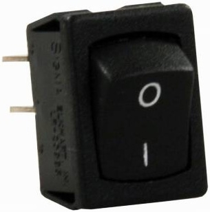 JR Products 13735 Mini On/Off Labeled I-O Switch