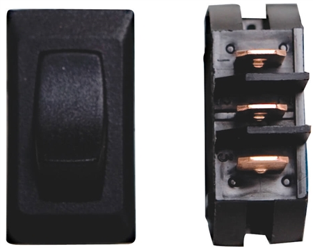 Valterra DG26UVP On/On 2-Way 12V Switch - Black
