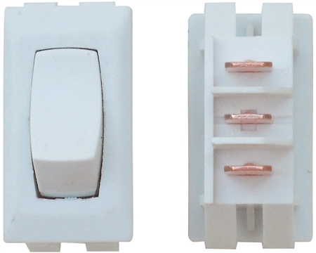 Diamond Group C1-86-UC 12V 2-Way On/On Switch - Ivory