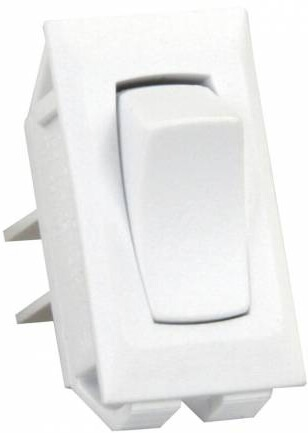 JR Products 13395 Multi-Purpose On/Off Switch - White