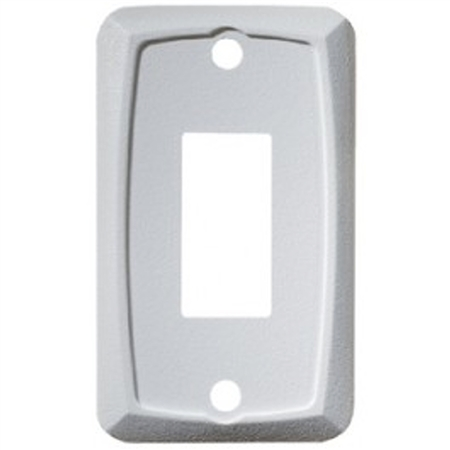 DC Single Mounting Plate-White