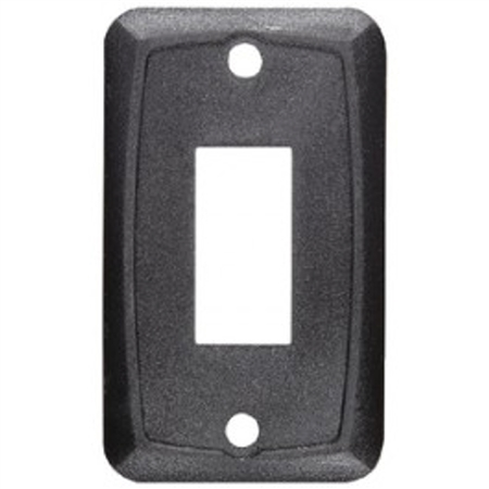 DC Single Mounting Plate-Black
