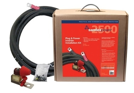 Samlex America DC-2500-KIT 300 Amp Inverter Installation Kit