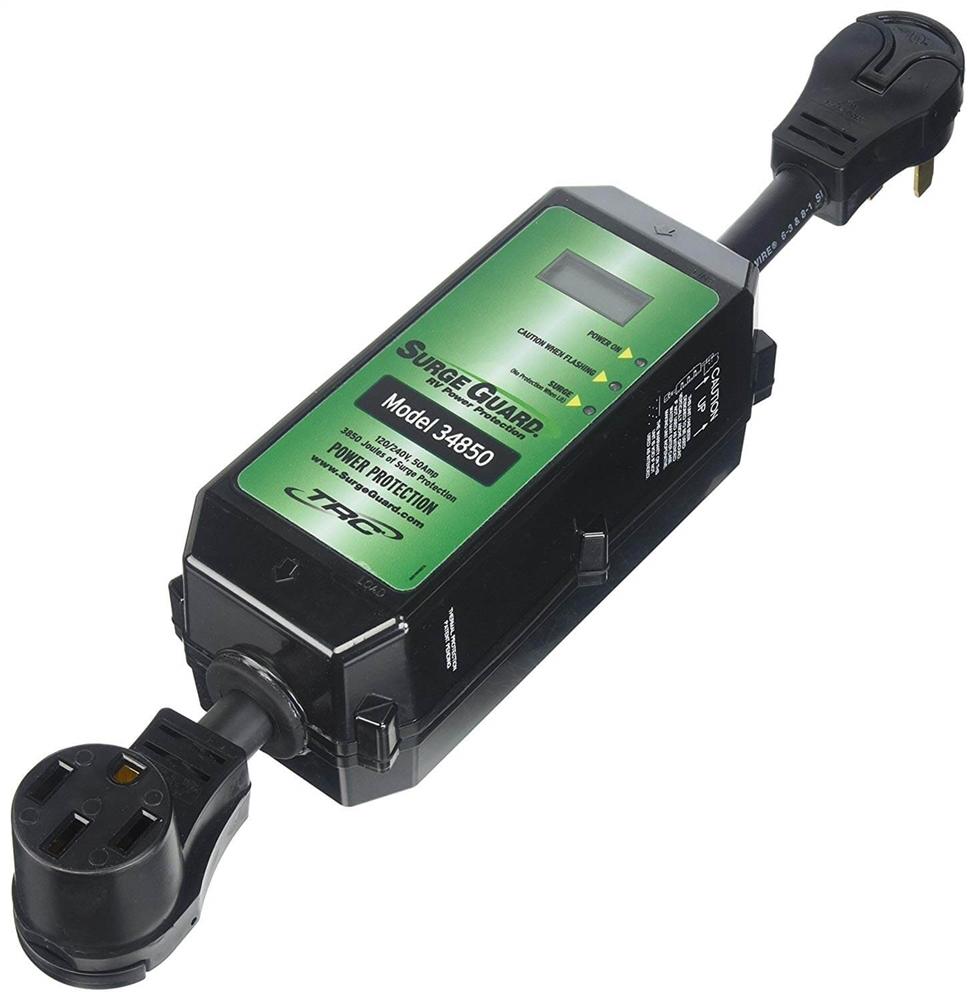 Surge Guard 34850 Portable Rv Surge Protector 50 Amps