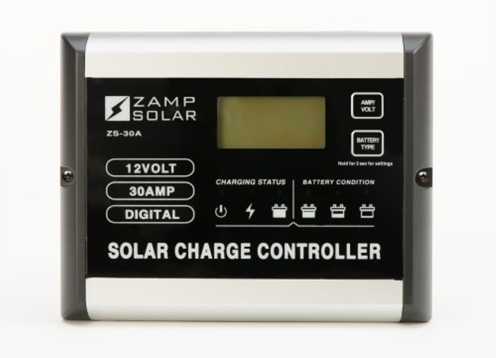 Zamp Solar Battery Charger Deluxe Rv Kit Zs 200 30a Dx