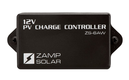 Zamp Solar KICKER 20 Watt 6 Amp Battery Maintainer Kit