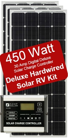 Zamp Solar 450 Watt Deluxe Rv Kit