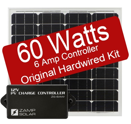Zamp Solar 60 Watt 6 Amp Original Kit