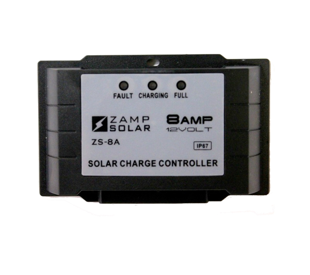 Zamp Solar Zs 8aw 5 Stage 8 Amp Solar Charge Controller