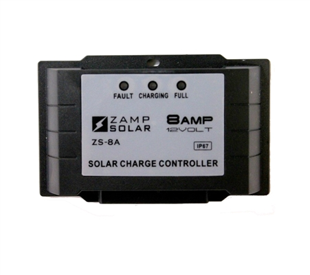 Zamp Solar 5 Stage 8 Amp Solar Charge Controller