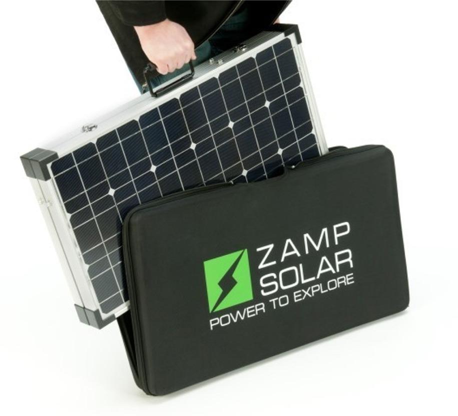 Zamp Solar Usp1001 90 Watt Portable Charge Kit