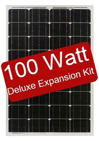 Zamp Solar 100 Watt Deluxe Expansion Kit