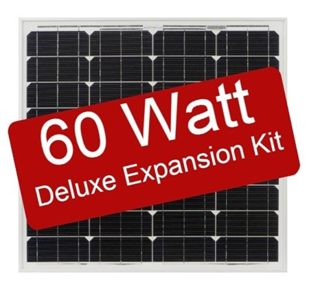 Zamp Solar 60 Watt Deluxe Expansion Kit