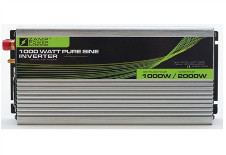 Zamp 1000W Pure Sine-Wave Inverter