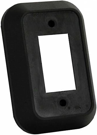 JR Products 13495 RV Single Switch Wall Spacer - Black