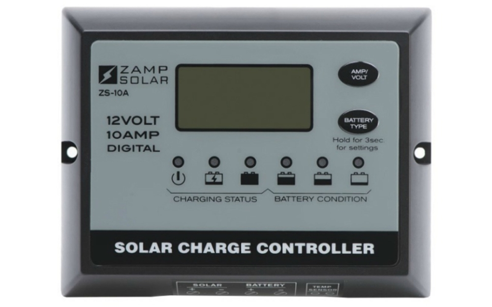 Zamp Solar Zs 10aw 5 Stage Solar Charge Controller 10 Amp