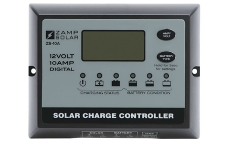 Zamp Solar 5 Stage 10Amp Solar Charge Controller