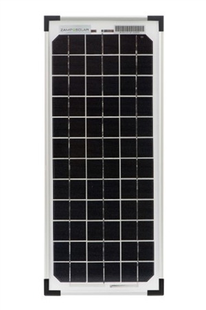 Zamp Solar 10 Watt Solar Equipment Battery Maintainer