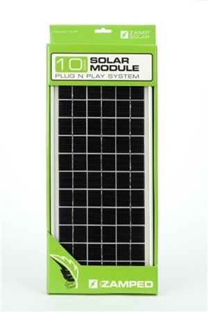 Zamp Solar 10 Watt Panel With Plug