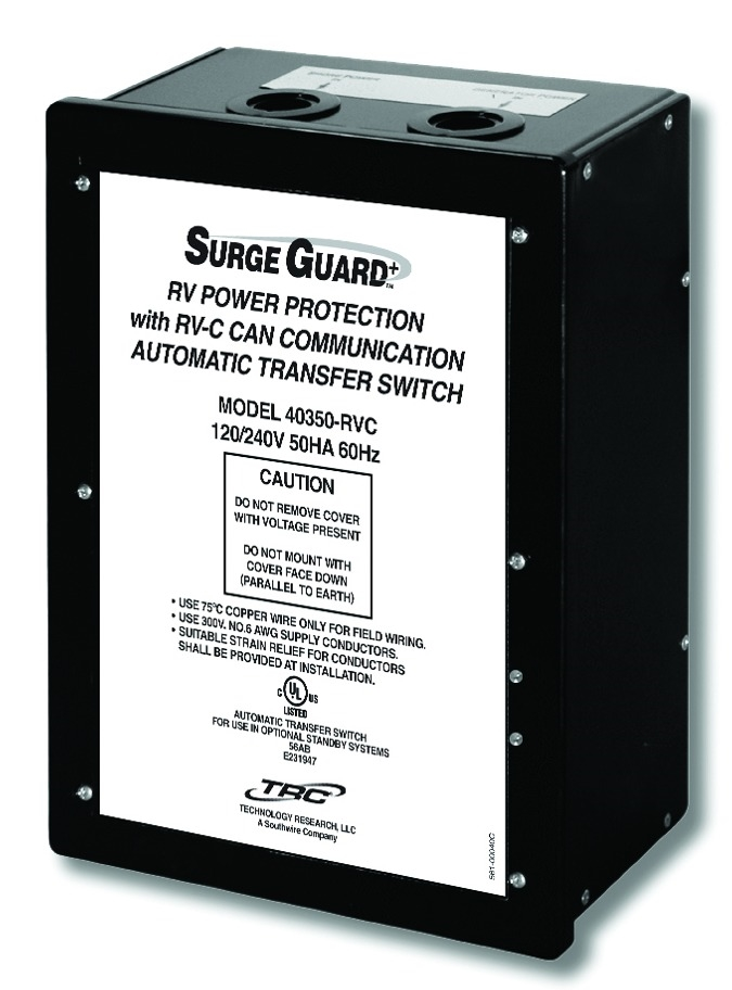 Surge guard 40350rvc1 50 amp hardwire automatic transfer switch freerunsca Image collections