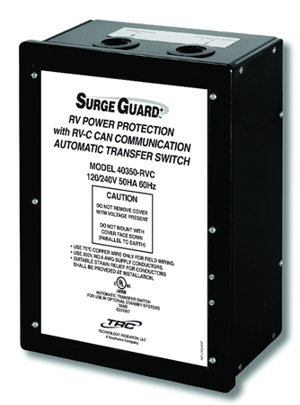 Surge Guard 50 Amp Hardwire Automatic Transfer Switch