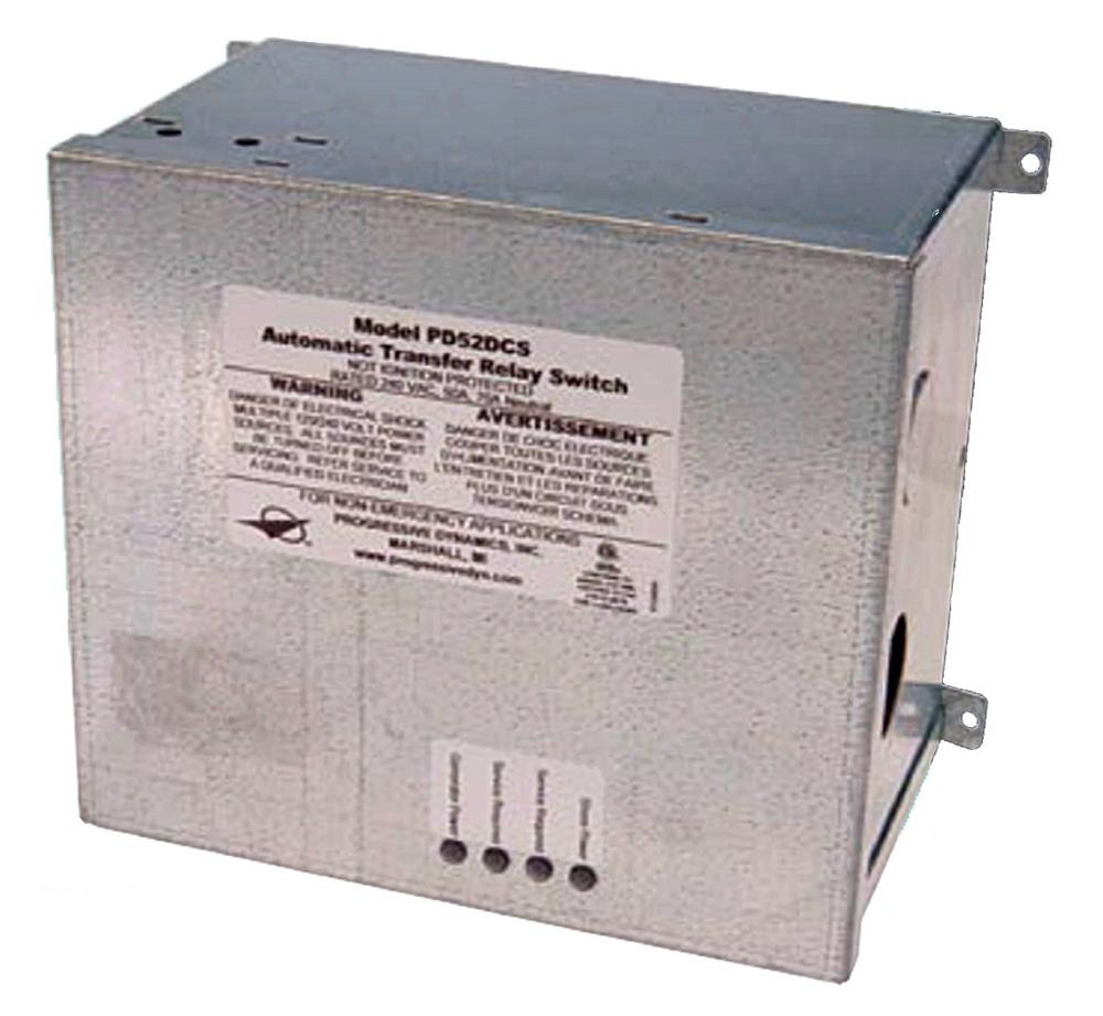 Progressive Dynamics PD52DCSV Automatic Power Transfer Relay Switch