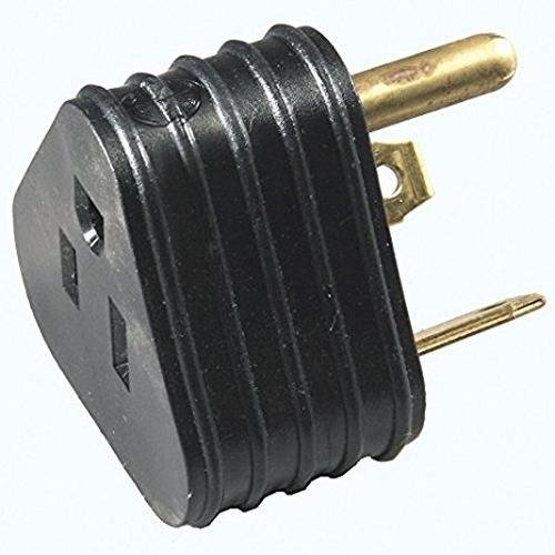 Arcon 14053 Temporary Triangular Power Cord Adapter - 15-30A