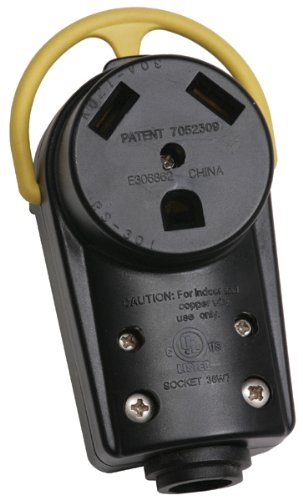 Arcon 18206 Replacement Generator Female Plug - 30 Amp