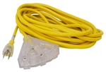 Valterra Mighty Cord 15 Amp Triple Outlet RV Extension Cord - 25'