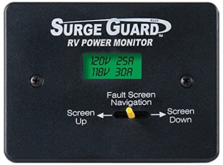 Surge Guard 40300 Remote Power Monitor Lcd Display W 50 Cable