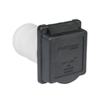 ParkPower 50ARVIB Weekender 50 Amp 125V/250V Power Inlet - Black