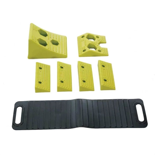 Hopkins Towing Solutions 08200 Endurance RV Leveling Kit With Wheel Chock