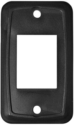 Diamond Group P6615C Heavy Duty Switch Plate Cover - Black