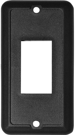 Diamond Group P7000-15C Waterproof Slide-Out Switch Face Plate - Black