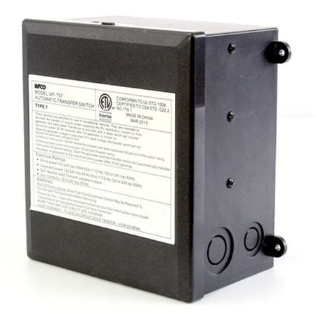 WFCO 50 Amp Automatic Power Transfer Switch