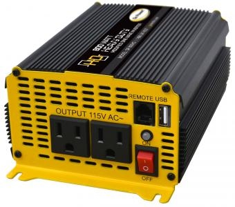 Go Power Modified Sine Wave Inverter, 600W