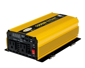 Go Power Modified Sine Wave Inverter, 1000W